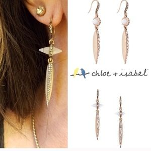 Chloe and Isabel African plains drop earrings
